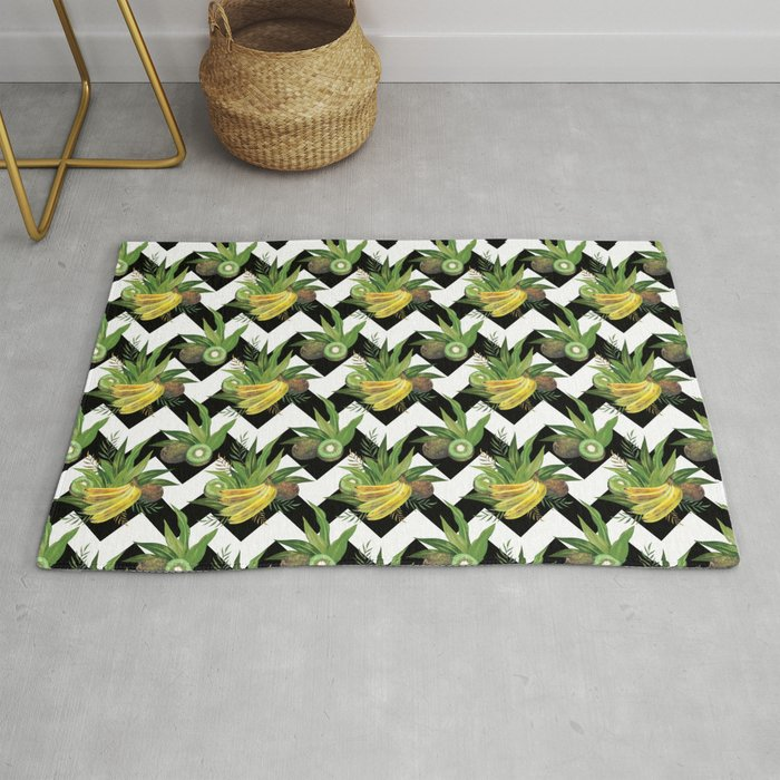 bananas-and-kiwis-zigzag-rug