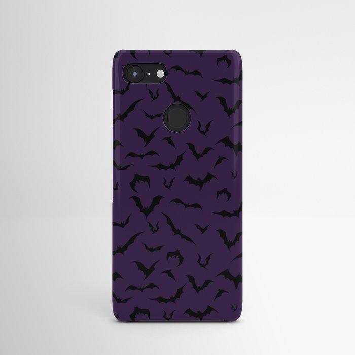 bats halloween purple pattern holidays