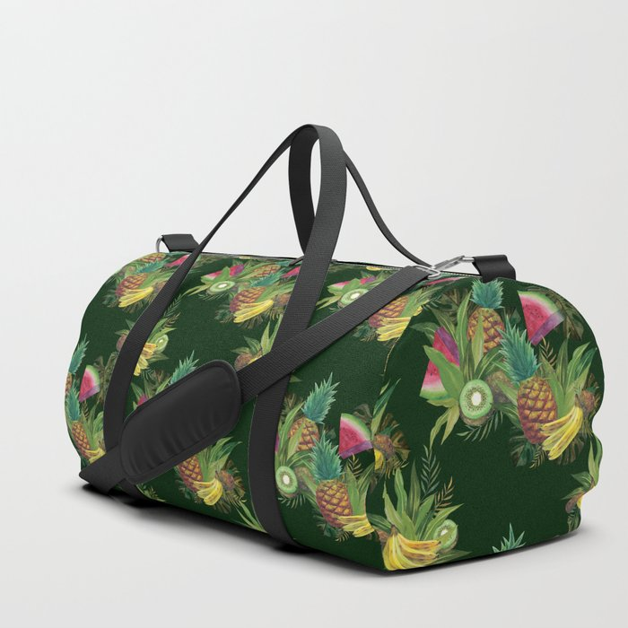 fruits-basket-1-forest-green-duffle-bags