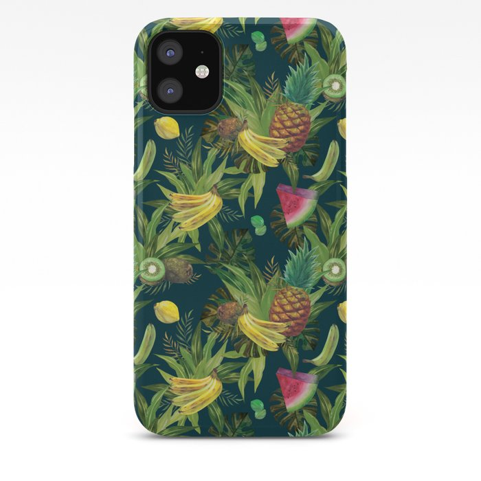 tropical pattern fruits basket 2 phone case