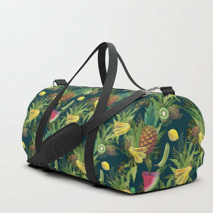 tropical pattern fruits basket 2 sports bag