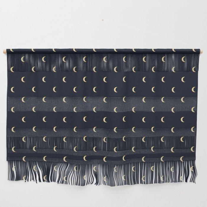 atomic geisha design half moons pattern