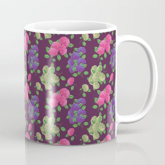 hydrangea mug flower art