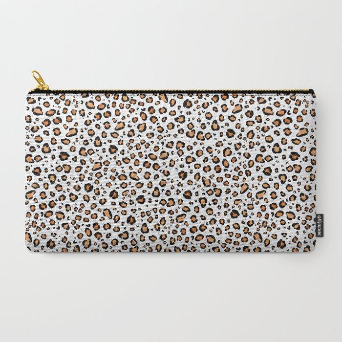 leopard print pouche bag purse