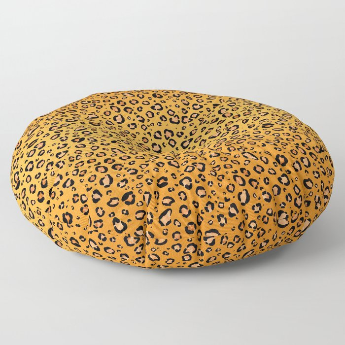 leopard print real illustration pattern