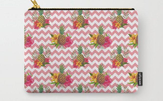 pineapples hibiscus lillies
