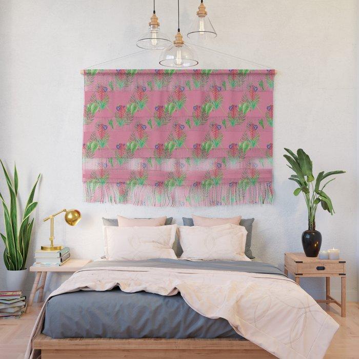 wall decor pink art painting