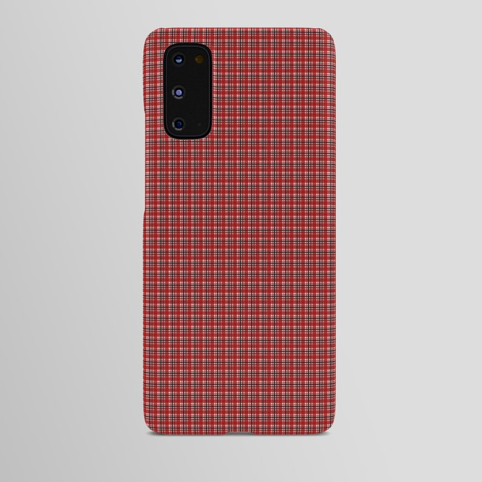 phone case red plaid
