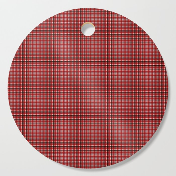 red plaid pattern design