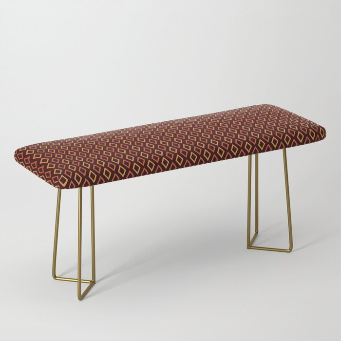 Cognac Diamonds bench