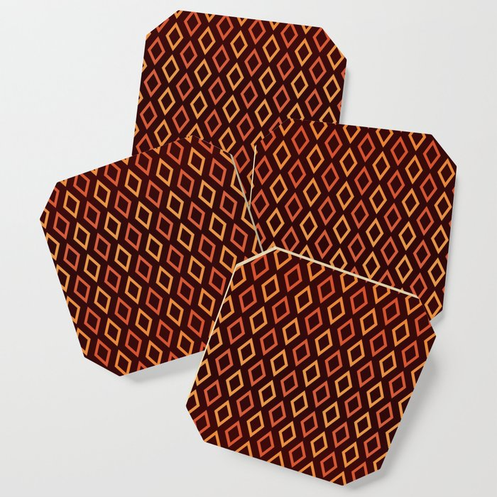 Cognac Diamonds coasters