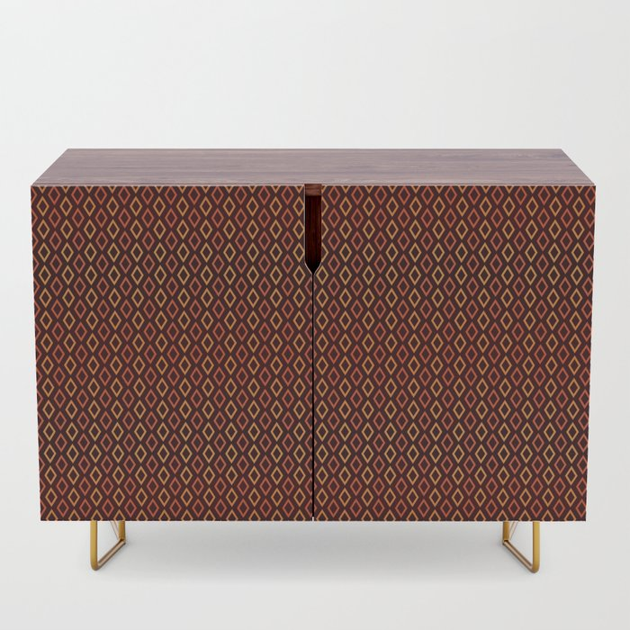 Cognac Diamonds dresser sideboard
