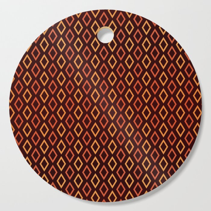 Cognac Diamonds cutting board