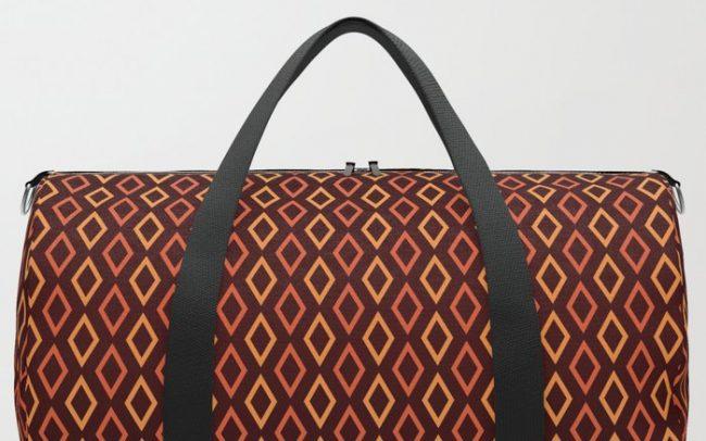 Cognac Diamonds sports bag