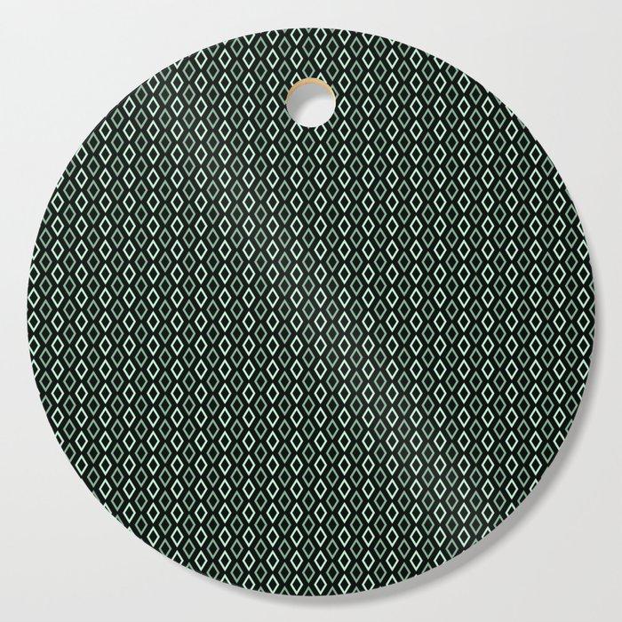 black mint diamonds serving cutting board