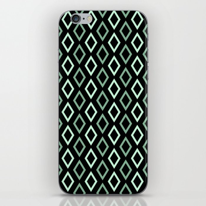 black mint diamonds phone case
