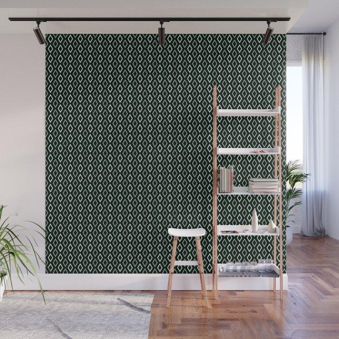 black mint diamonds tapestry