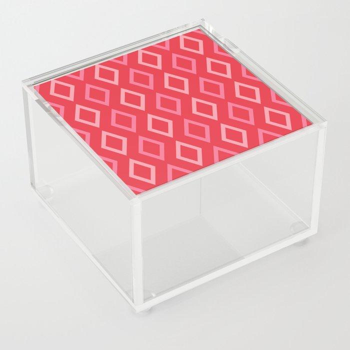 coral diamonds acrylic box