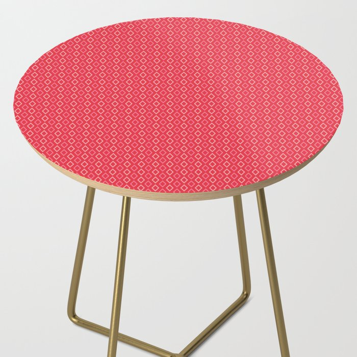 coral diamonds bar stool