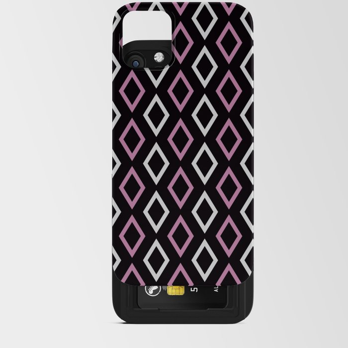 black pink diamonds smart phone cover