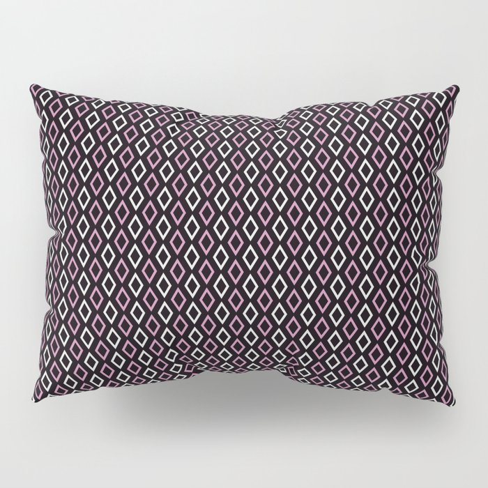 black pink diamonds pillow