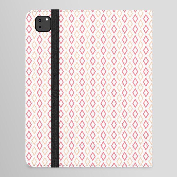 Pink-white Diamonds ipad case
