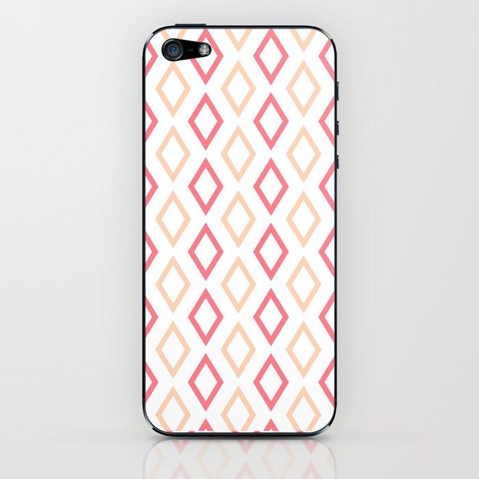Pink-white Diamonds phone case