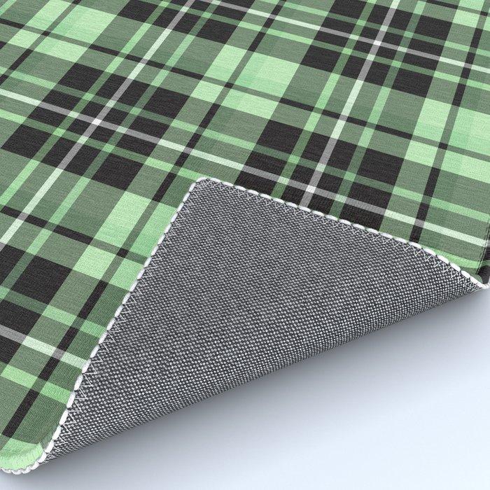 Mint-Green Plaid rug