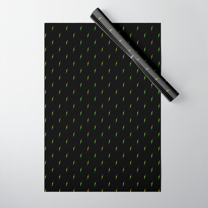 taking care of business wrapping paper