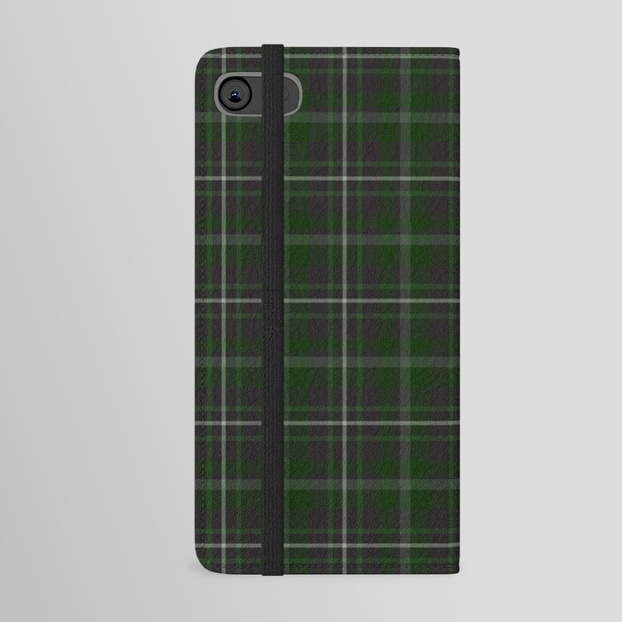 green plaid phone cover