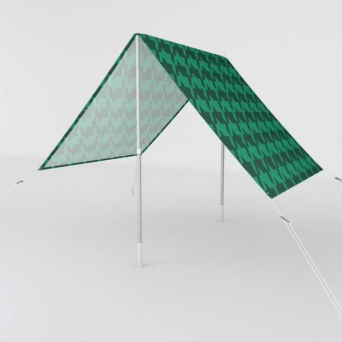 green on green houndstooth sun shades