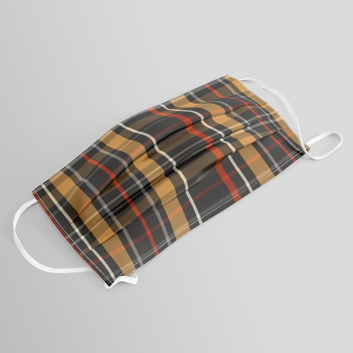 face mask plaid scottish