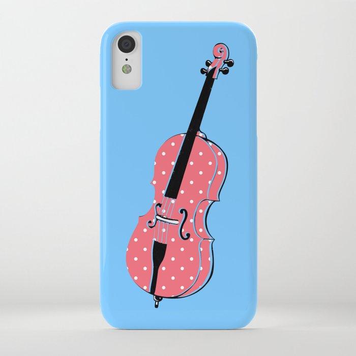 phone case Bass Pink Polkadots