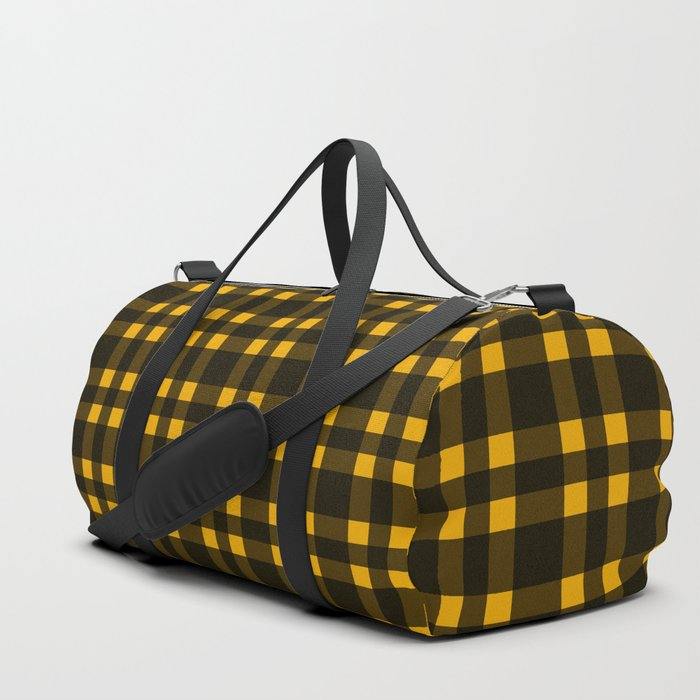 Black mustard plaid