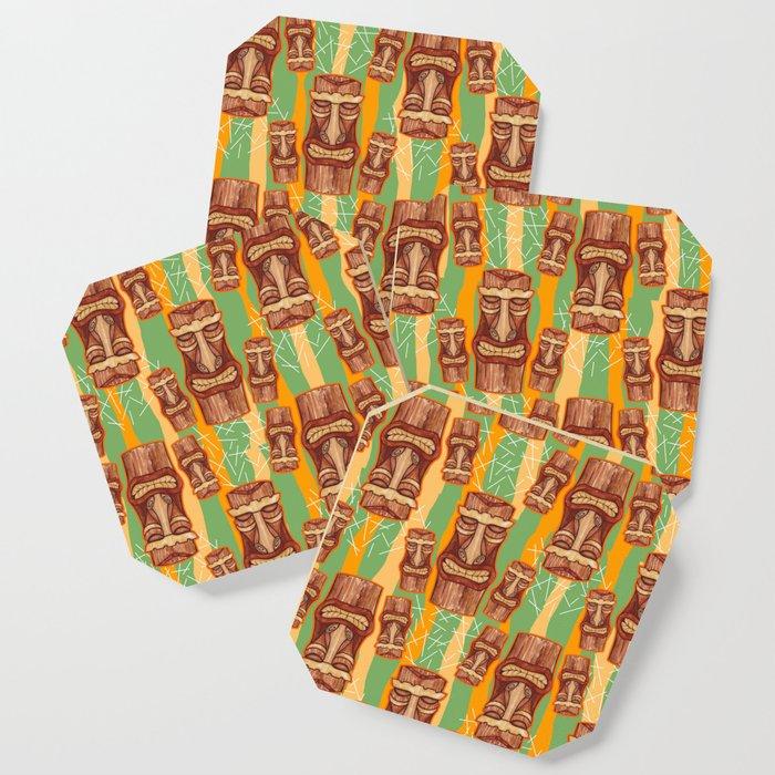 coasters tiki pattern