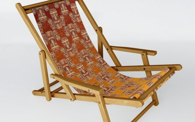 sling chair foldable