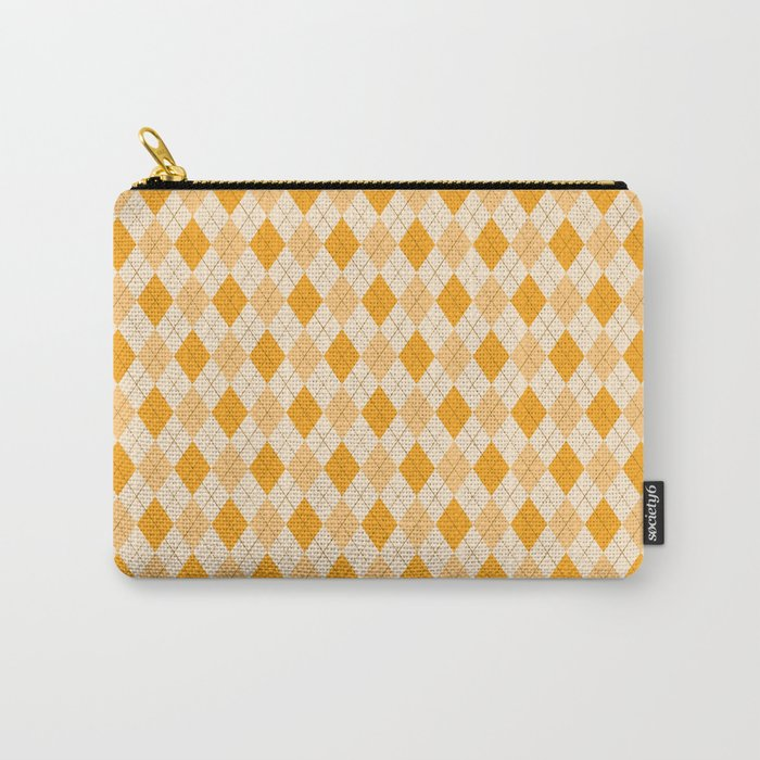 yellow argyle pattern